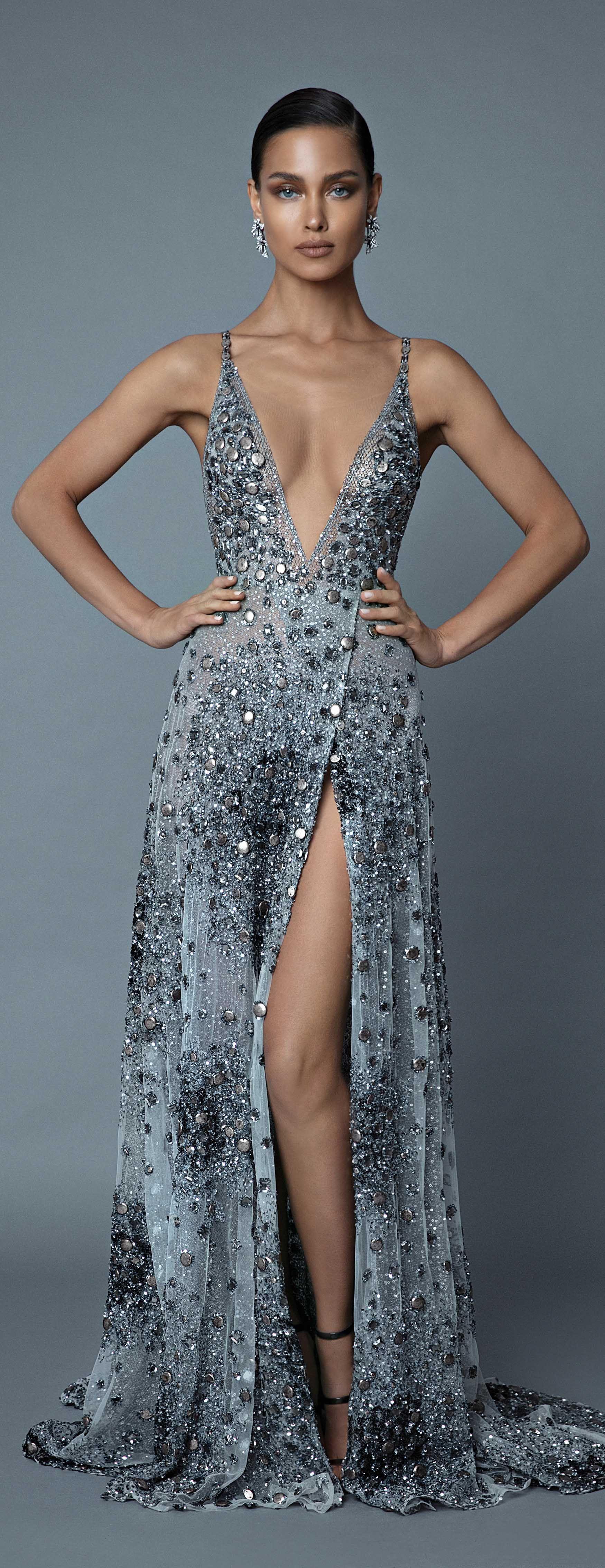 2019 Berta Evening Haute Couture Fashion Dresses Formal Couture Dresses Evening Gowns [ 4536 x 1750 Pixel ]