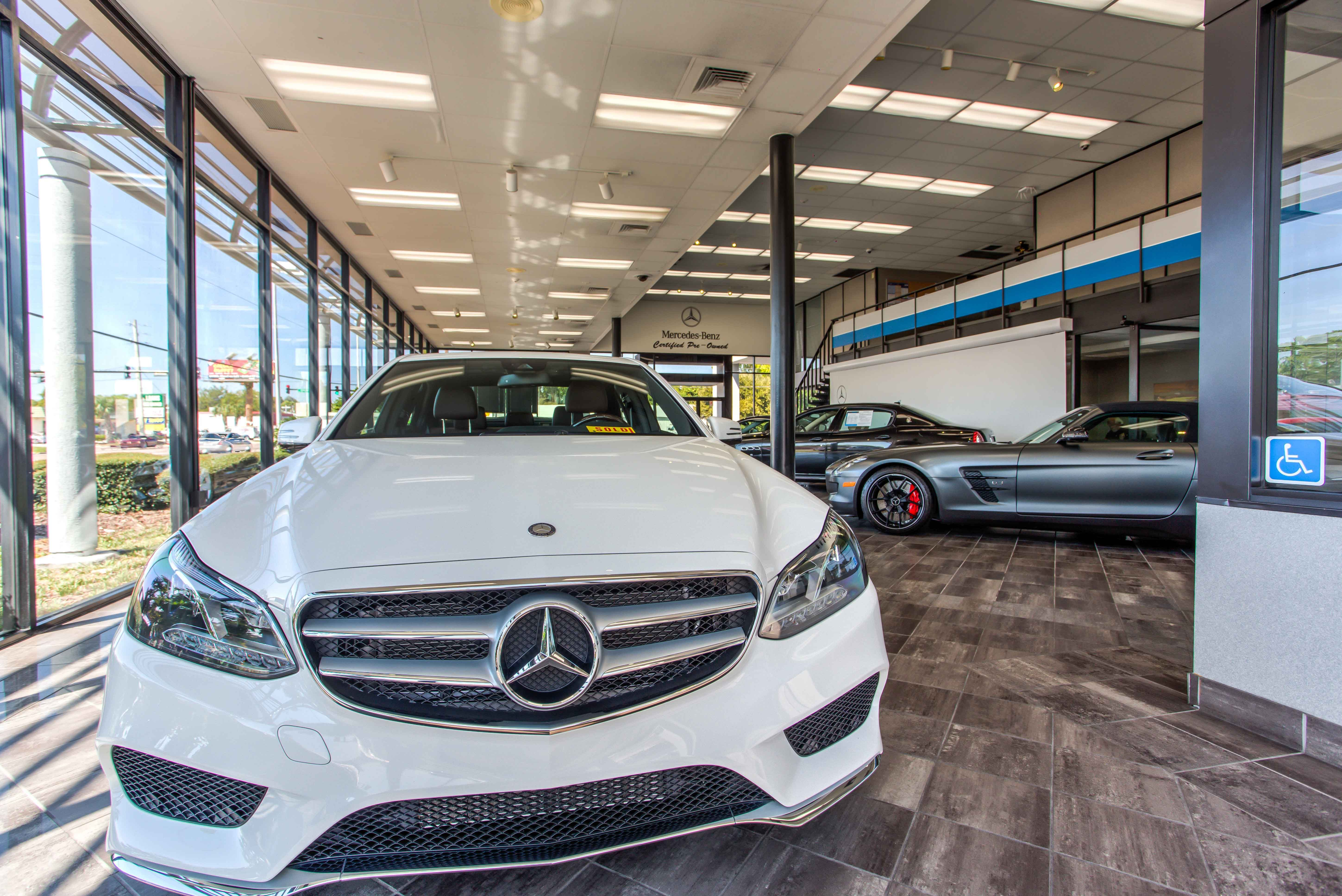 We are an authorized Mercedes Benz Dealer in Jacksonville FL
