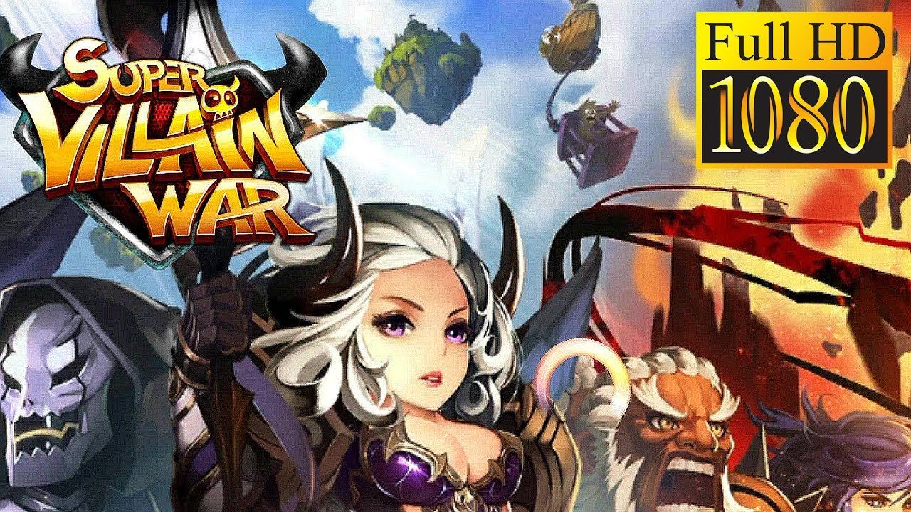 Super Villain War: Lost Heroes Game Review 1080p Official Sway Mobile Ro...