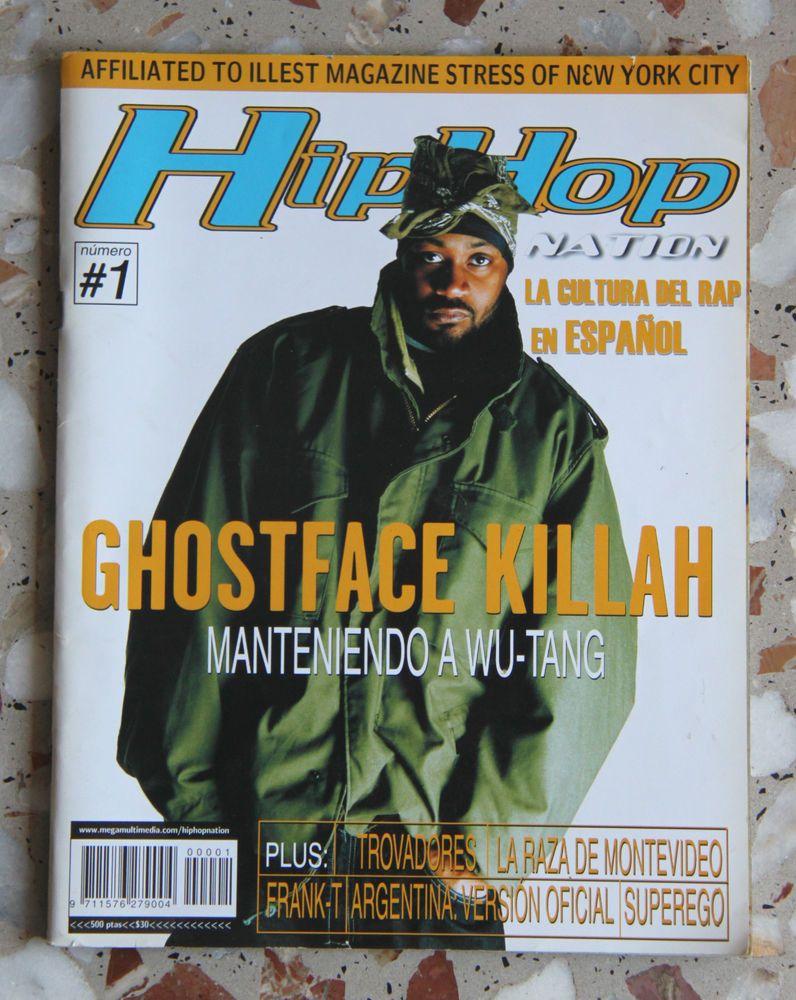 Hip Hop Nation España #1 Ghostface killah Frank T Graffiti Rap Spain Wu Tang   Rap. Rap español. España