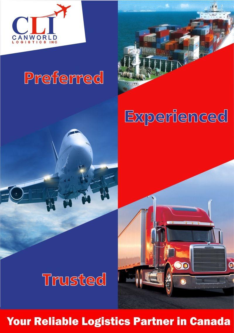 Canworld Logistics INC the leading international freight forwarders