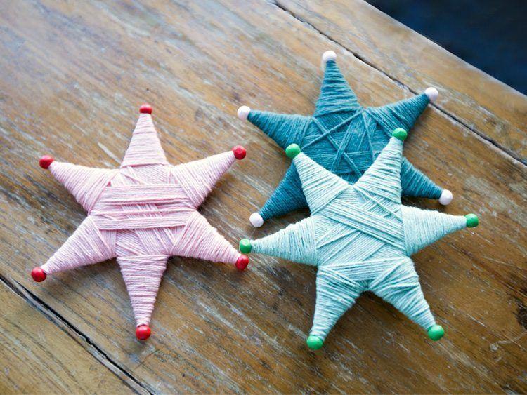 DIY – Stjerner i garn | Se søstrenes kreative DIY-projekt