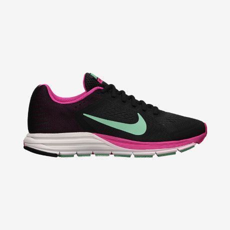 buy popular 47451 dab57 Nike Zoom Structure+ 17 Women s Running Shoe - size 7 Regular in pink and  black