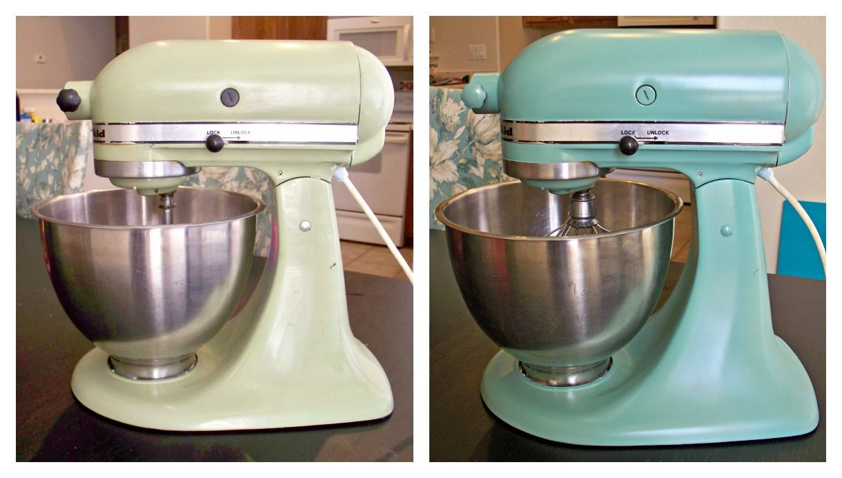 the Crafty Woman: KitchenAid Made Over