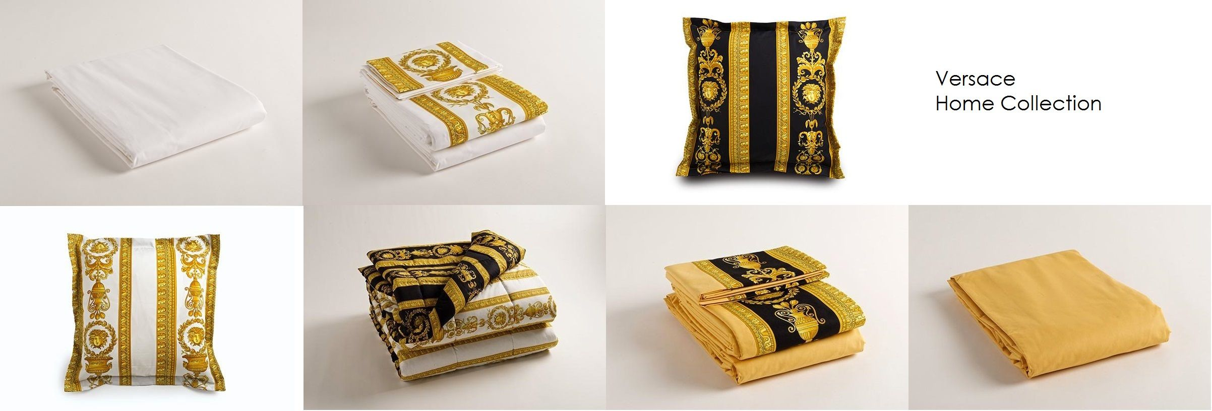 Versace home collection bed sheet and blanket