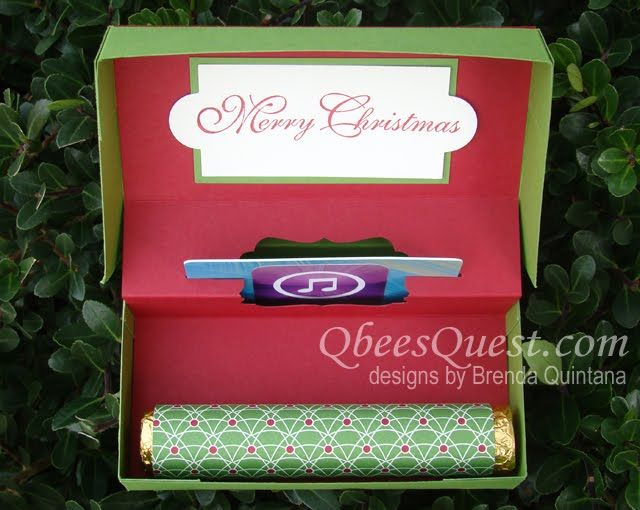 TECHNIQUE - Qbee's Quest: Pop-Up Gift Card Box Tutorial