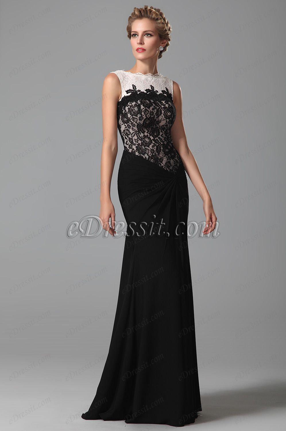eDressit Top Lace Floor Length Evening Dress Formal Gown (14
