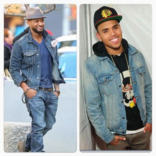 Denim jackets | Denim jackets swag | Pinterest | Ushers, Chris ...