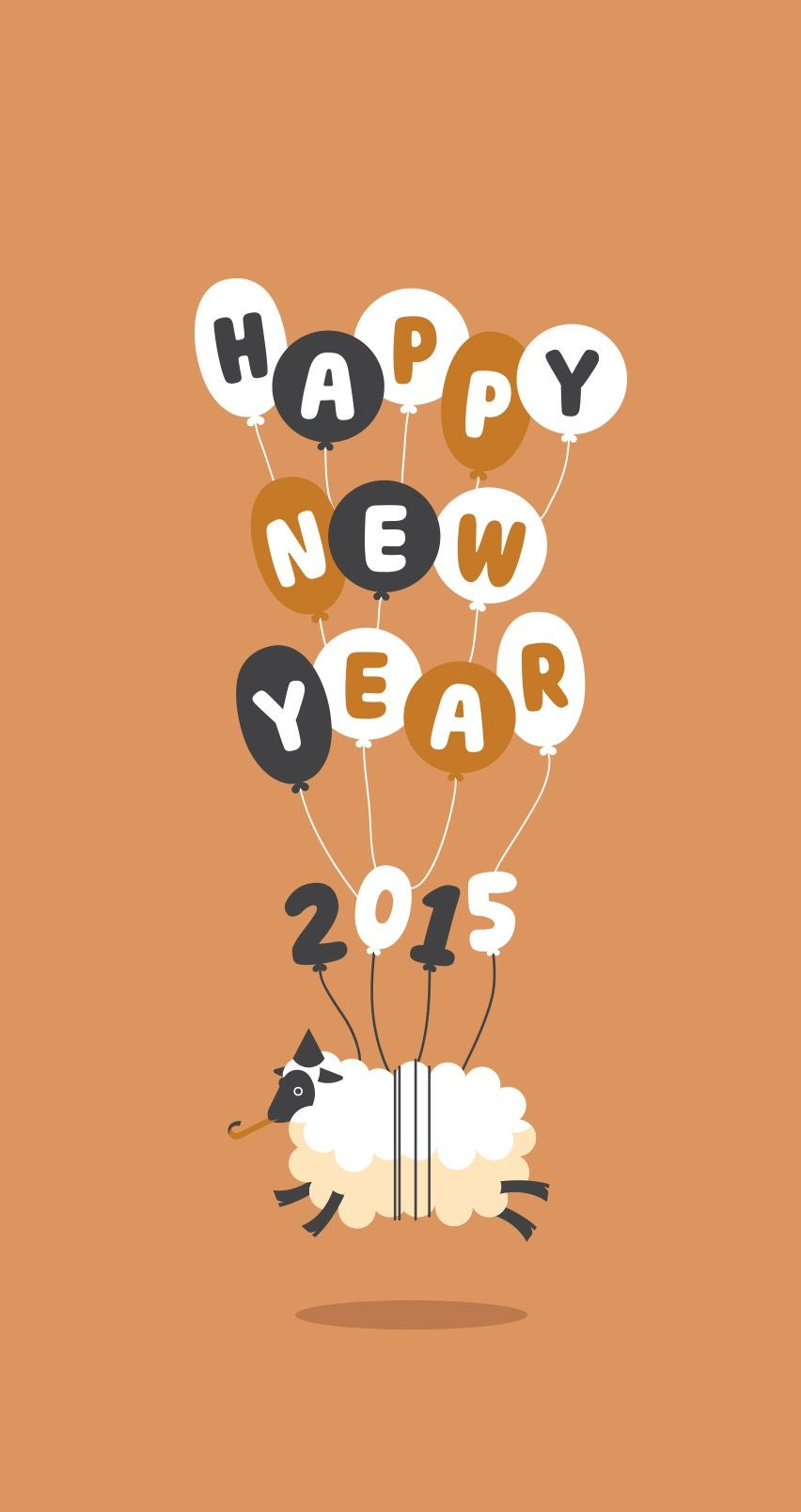 tap image for more new year 2015 iphone 6 wallpapers happy new year 2015 mobile9 iphone calendar