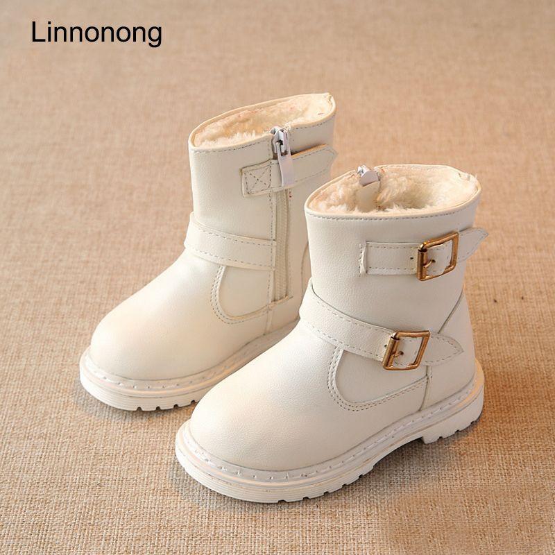 Click To Buy Linnonong 2017 New Winter Children Snow Boots Fashion Girls Wool Boots Keep Warm Kids Gir Fur Boots Fashion Girls Snow Boots Girls Fur Boots