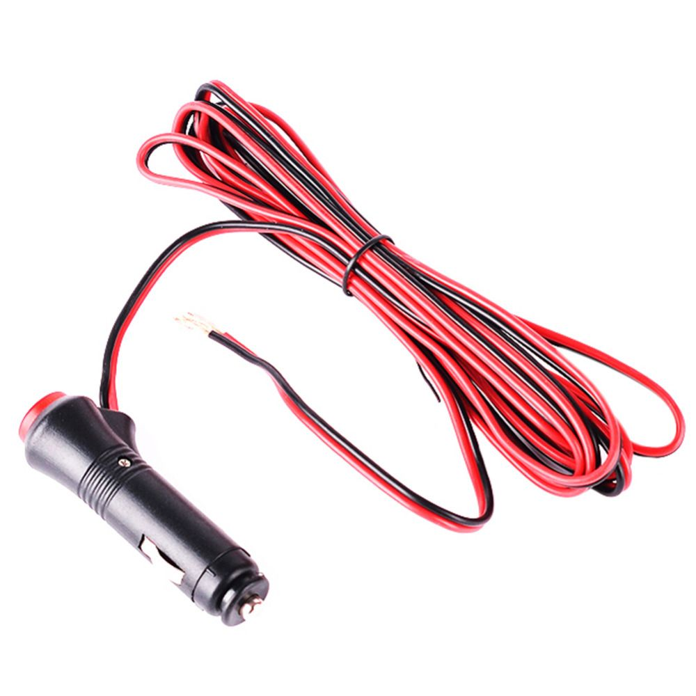 12v Dc Car Cigarette Lighter Socket Adapter Plug Power Charger 2m