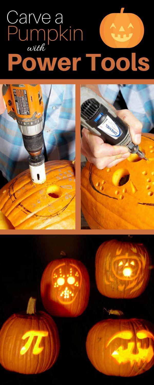 Pumpkin Carving With Power Tools Pumpkin Carving Pumpkin Carving Tools Dremel Pumpkin Carving