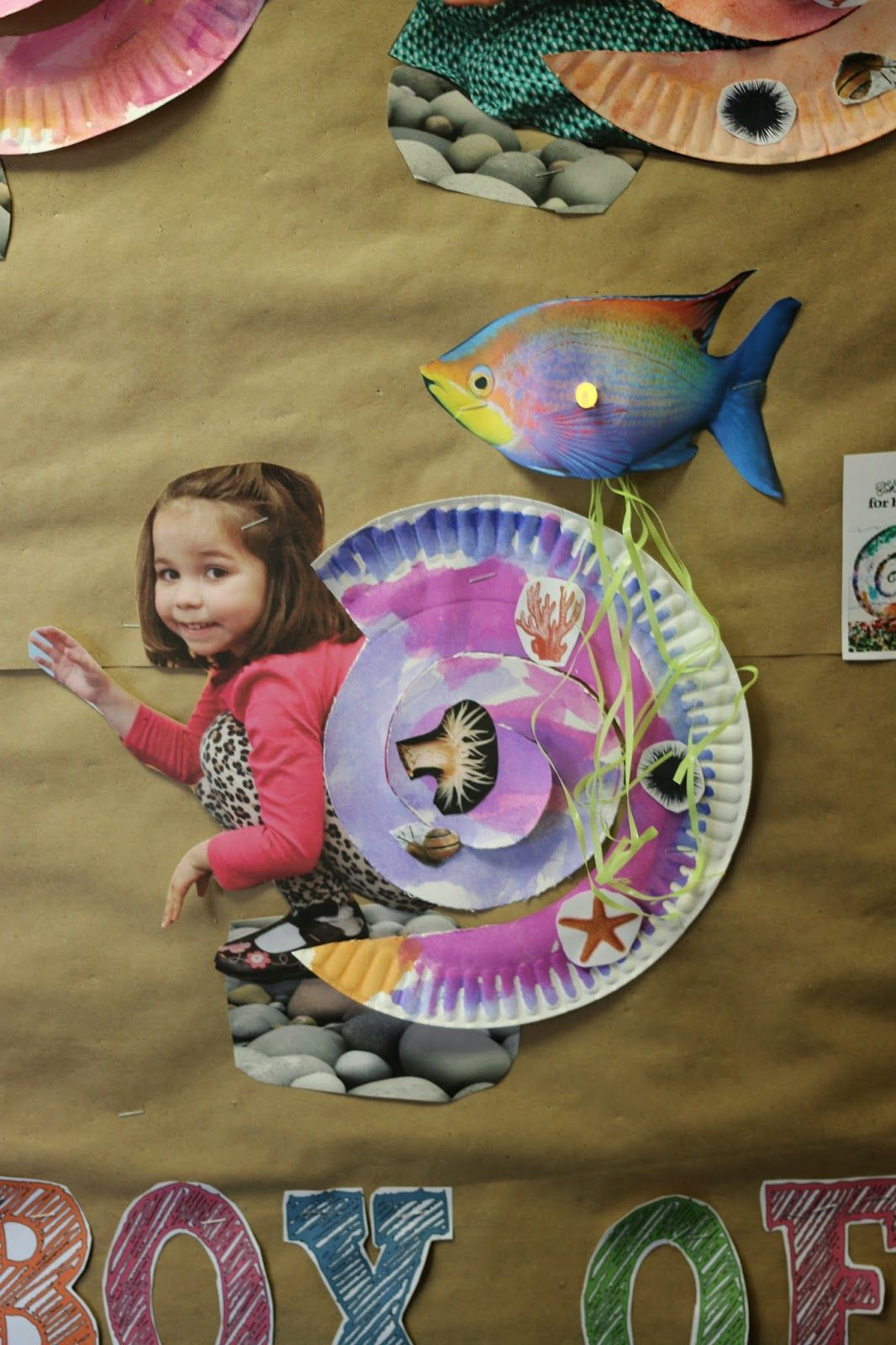 """We have been having a lot of fun with our Ocean Theme over the past few days. Today we read a great book by Eric Carle titled """"A House for a..."""