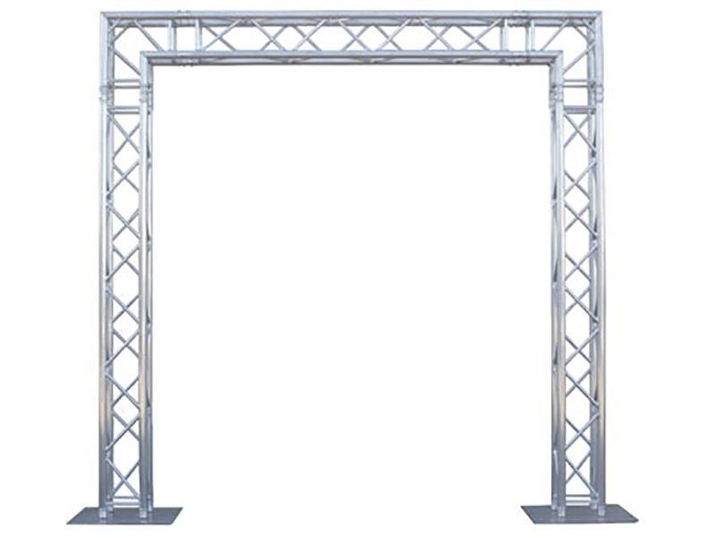 Decorative Metal Trusses 10 X 10 Truss Package Cort Party Rental Roof Truss Design Metal Lighting Metal Decor