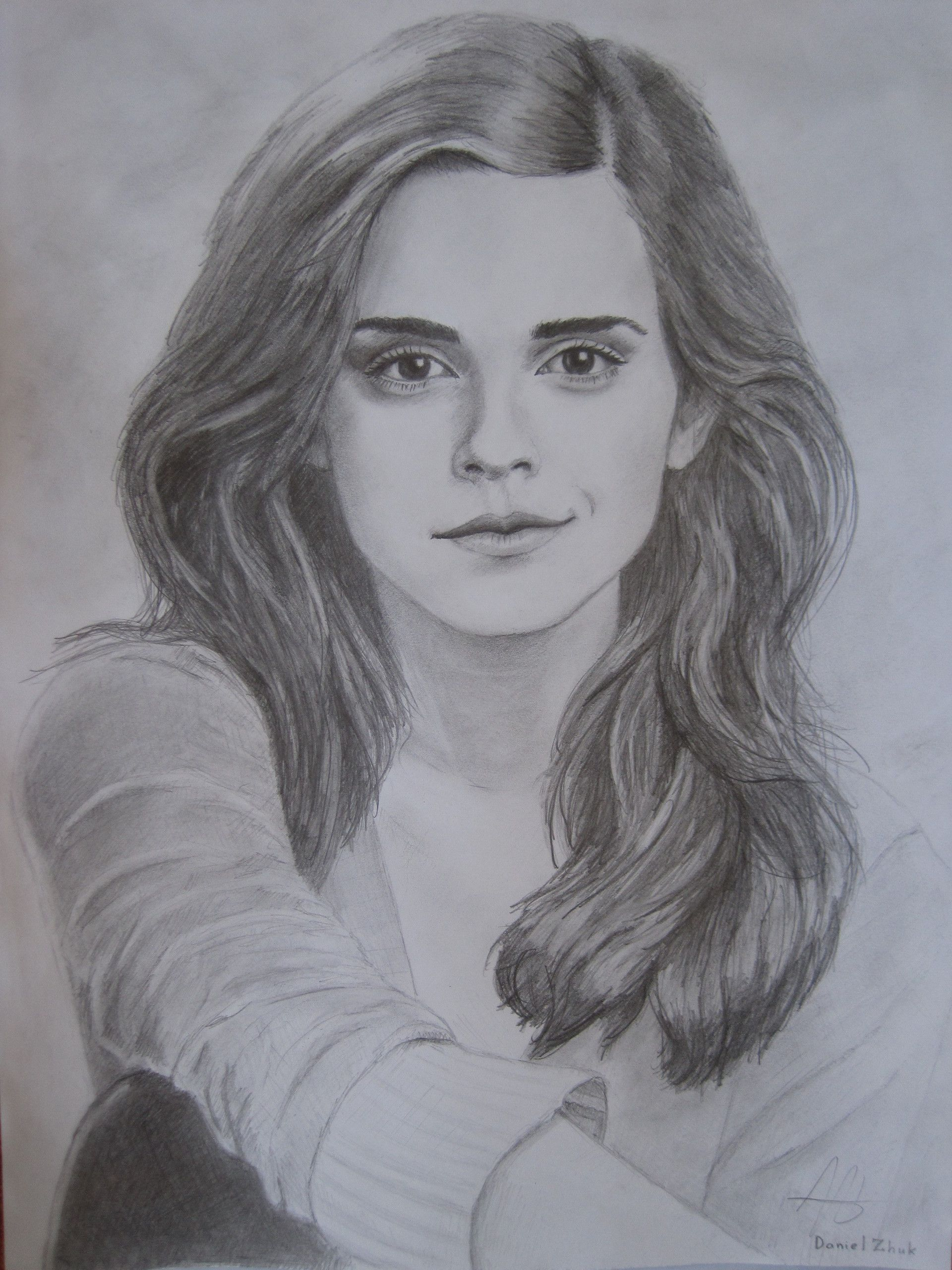 Emma Watson Pencil Drawing