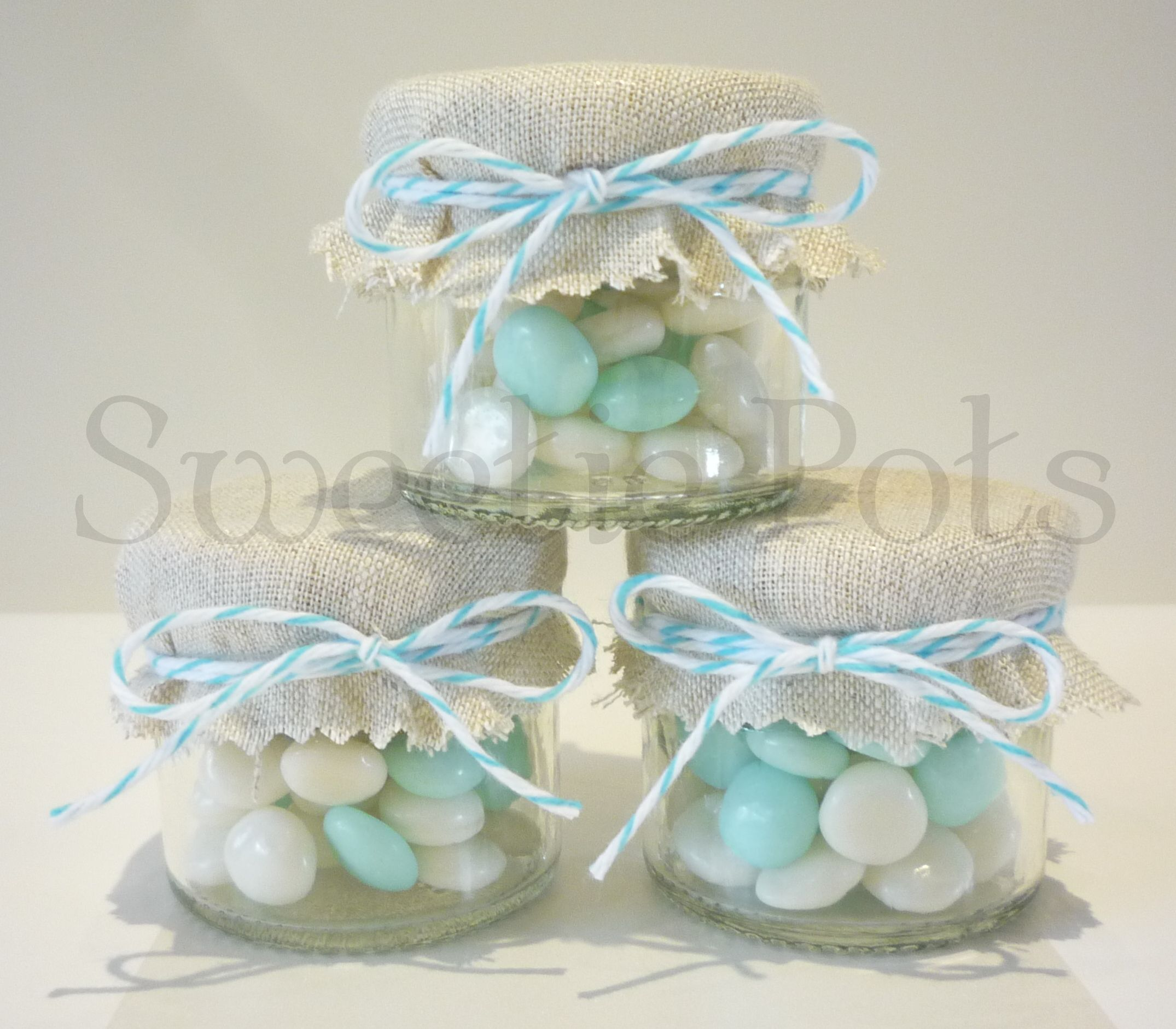 Mini Jam Jar Wedding Favours