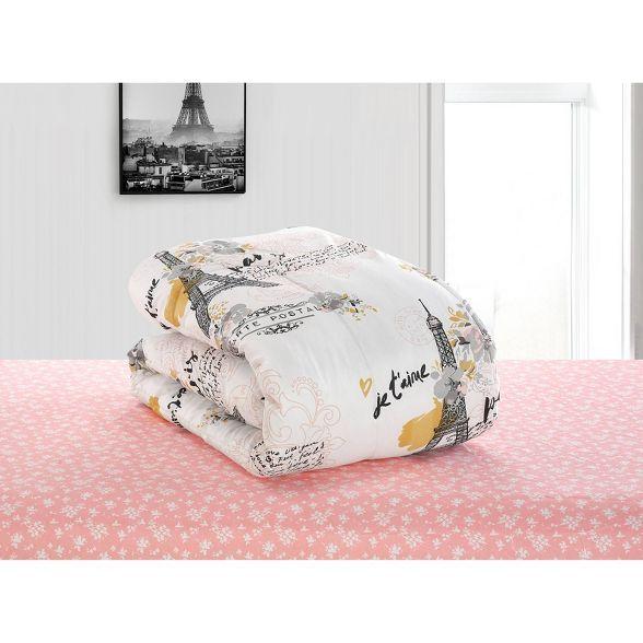 Full Paris Love Bed in a Bag Pink - Heritage Club