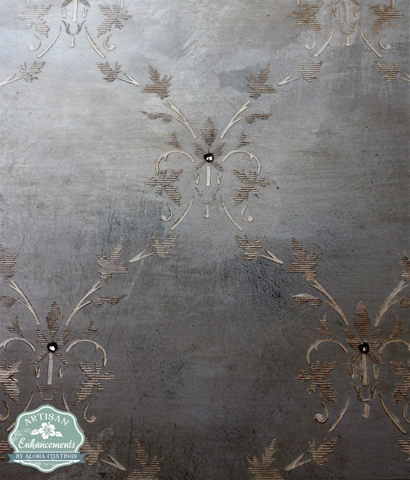 Antiqued Plastering And Gold Glaze Faux Finish Wall: Wall Finish Done With Artisan Enhancements Pearl Plaster