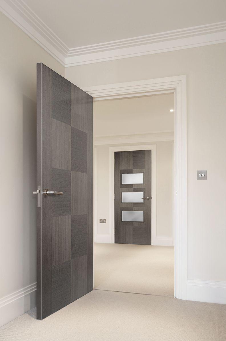 Apollo Chocolate Grey Internal Door in 2020 | Grey ...