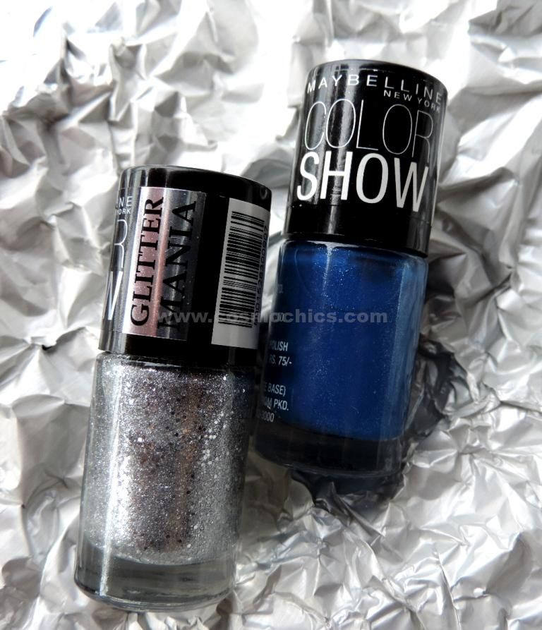 Currently On My Nails: Maybelline ColorShow Glittermania!