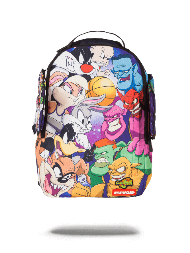 "50598edb743 Image result for Sprayground ""Space Jam"" product launch during NBA All-Star  Weekend"