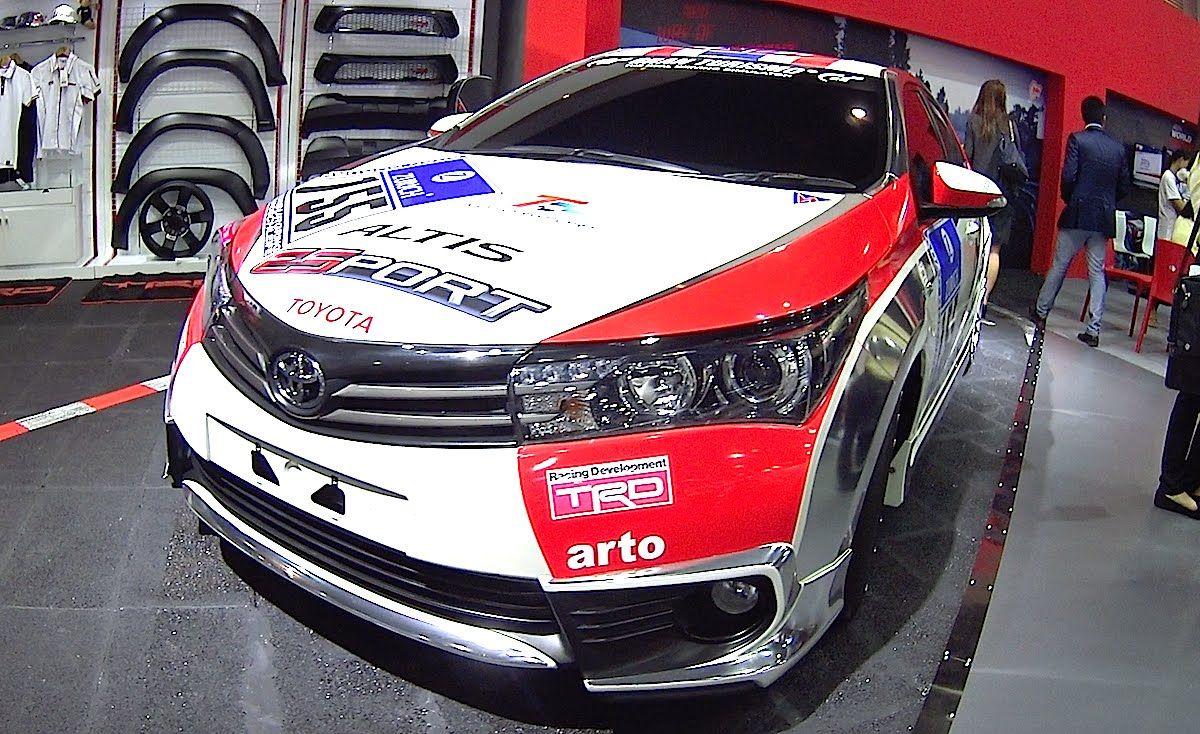2016 Toyota Corolla Altis TRD Racing Development
