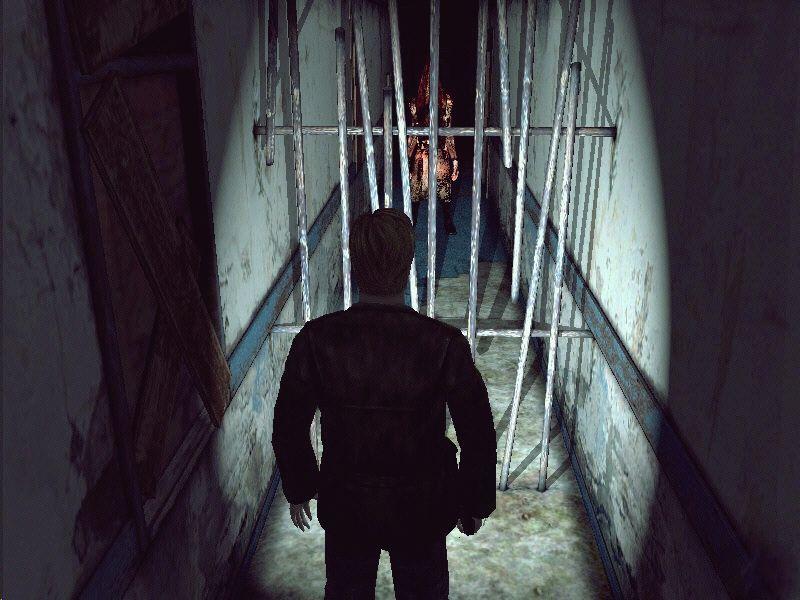 James Sunderland First Encounters Pyramid Head Silent Hill