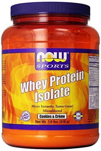 Now Foods Whey Protein Isolate Nutritional Supplement ...