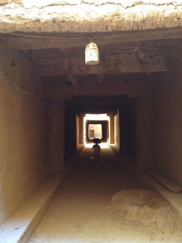 Morocco Erfoud passage way in town (submitted by Kim Gundler)