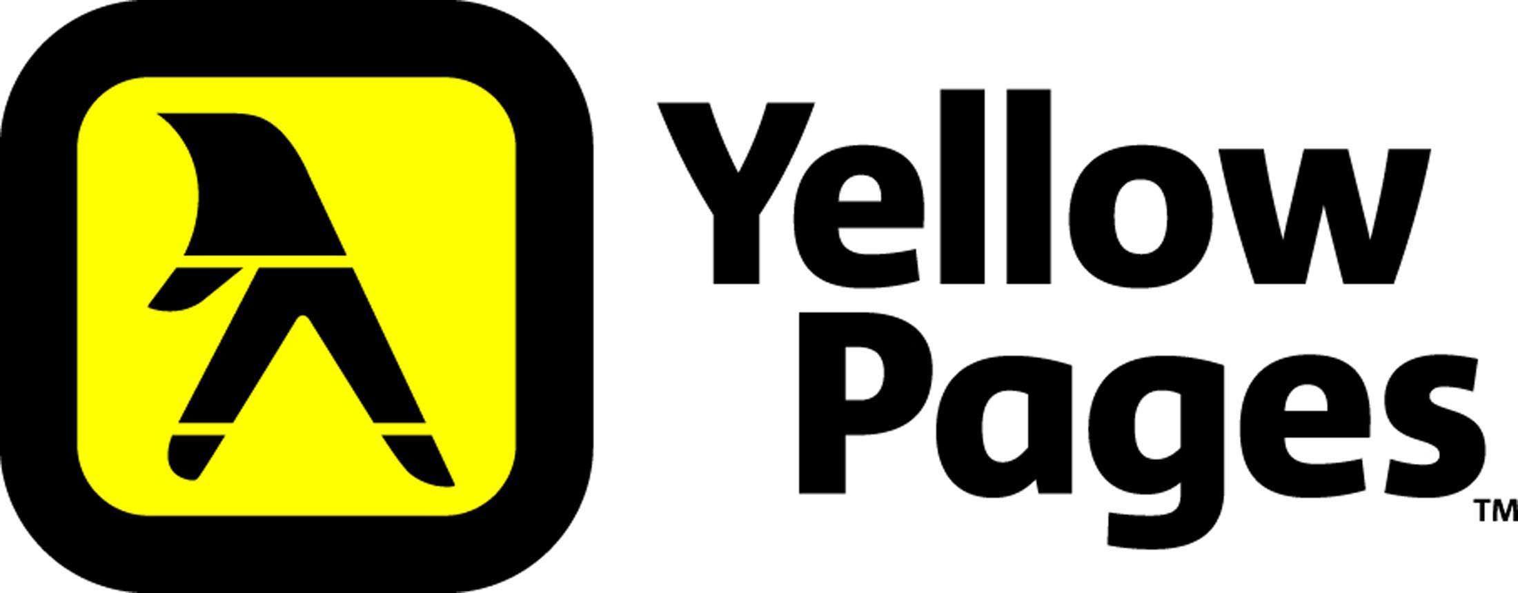 Resultado de imagen de yellow pages logo Yellow pages