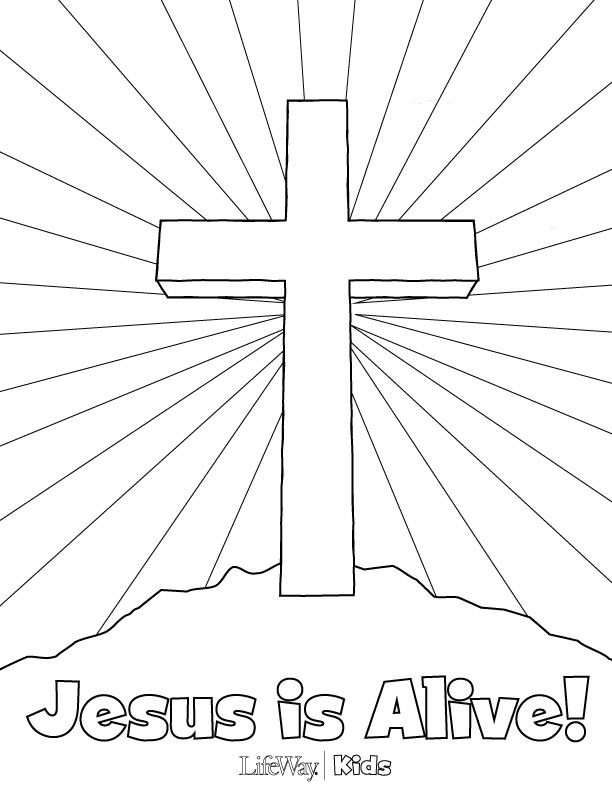 easter sunday coloring pages - photo#20