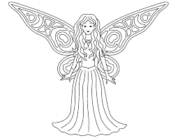 Картинки по запросу Fairy | Феи раскраска, Принцесса ...