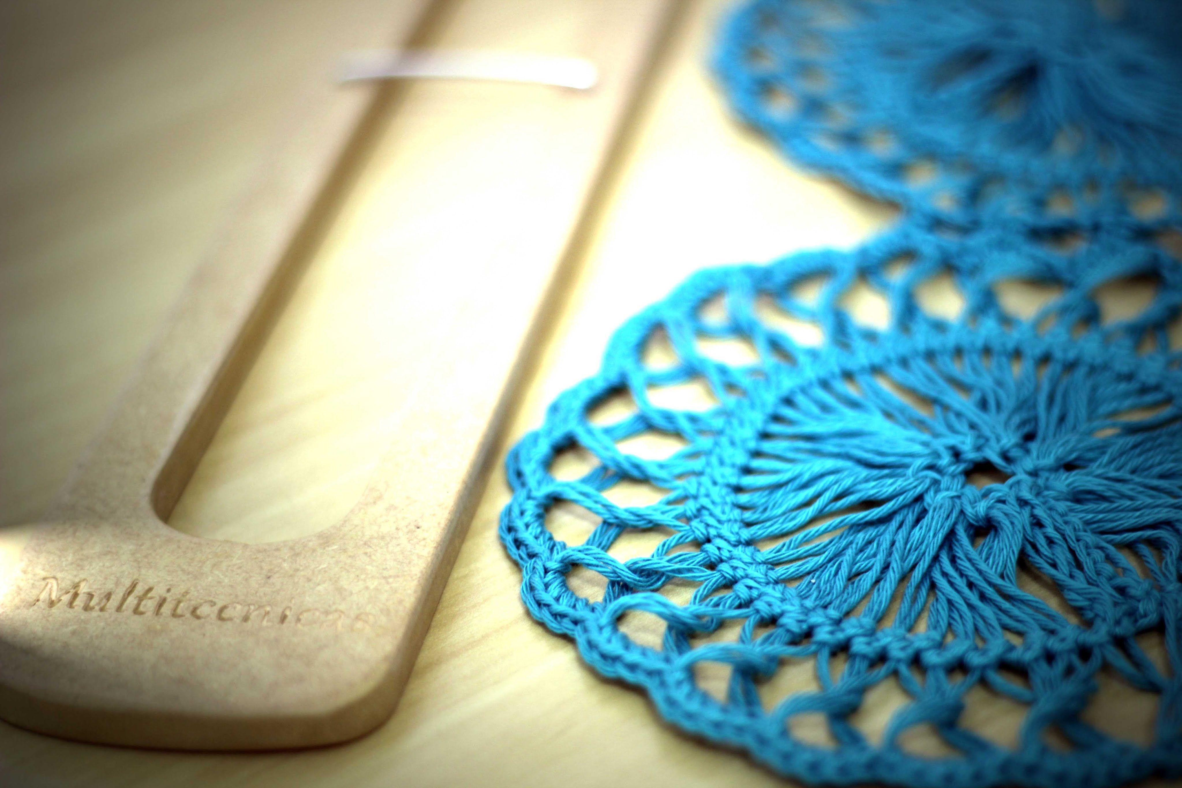 Crochê de grampo - motivo circular … | Pinteres…