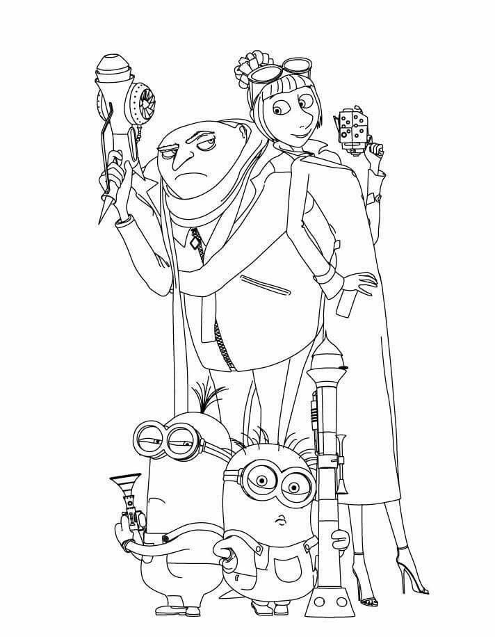 Pin By Michael Webb On Homeschool Minion Coloring Pages Minions Coloring Pages Cartoon Coloring Pages