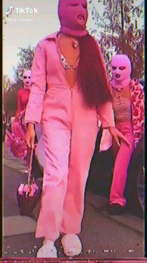 Gangster Girl Baddie Pink Ski Mask Aesthetic : gangster, baddie, aesthetic, Valeria, Perez, Burguesaaaaa, [Video], Aesthetic,, Black, Aesthetic