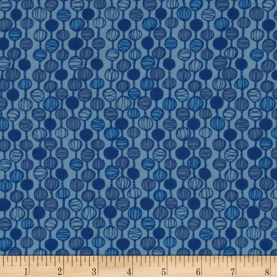 Valori wells blueprint basics pearl strand venetian blue from from valori wells designs for robert kaufman this cotton print fabric is perfect for quilting apparel and home decor accents colors include shades of malvernweather Image collections