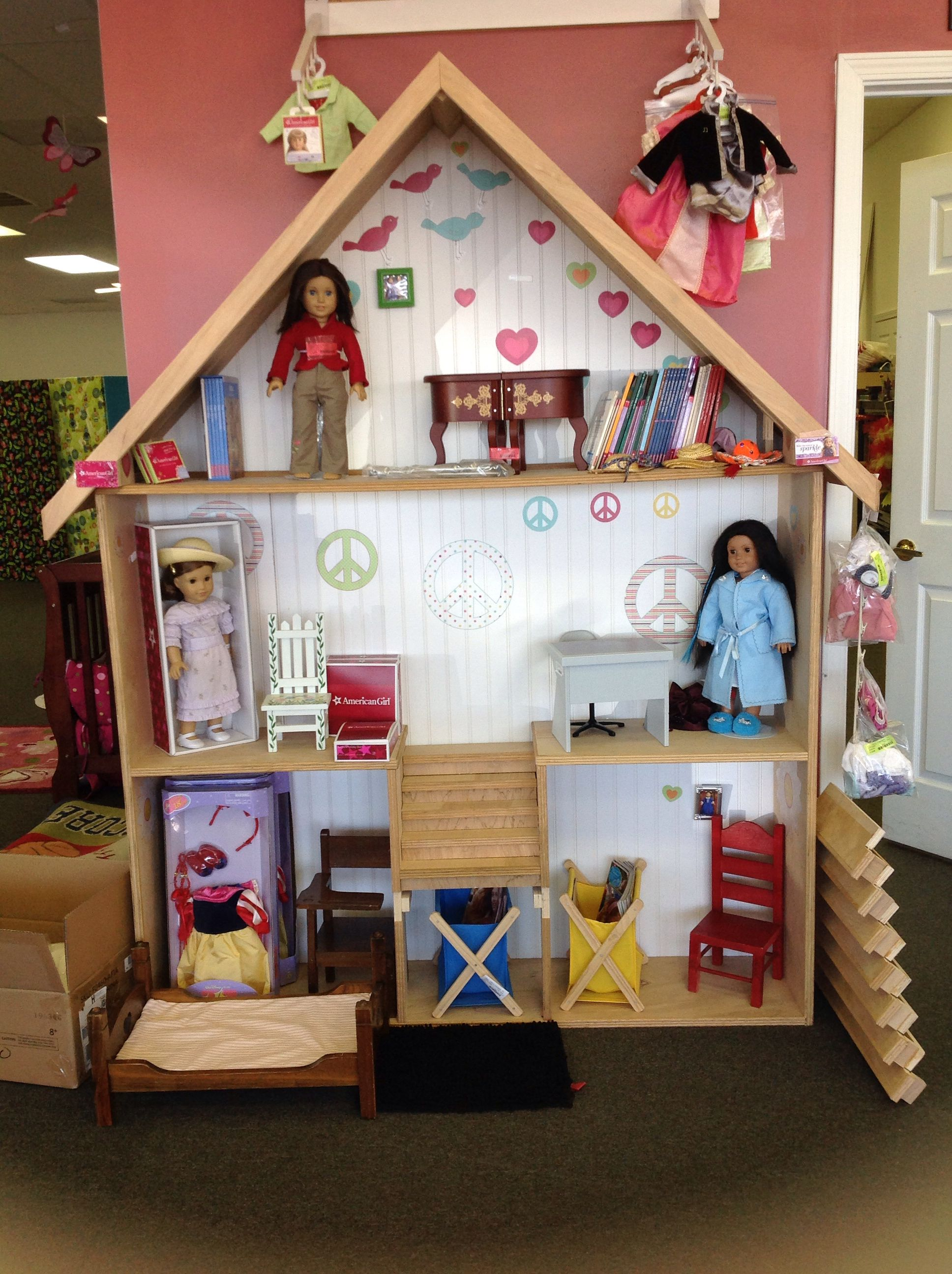 My Girls 18 Dollhouse  Country French Kid4S Dream $300 Dollhousewoodworking