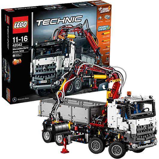 Lego 42043 Technic Mercedes Benz Arocs 3245 Lego Technic Mytoys