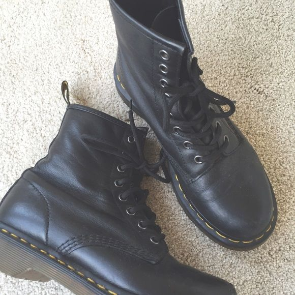 Dr. Martens • | Combat boots, Boots and Black