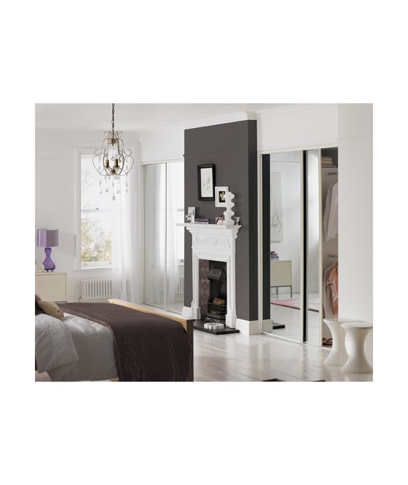 Liking The Sliding Wardrobes Either Side Of The Chimney