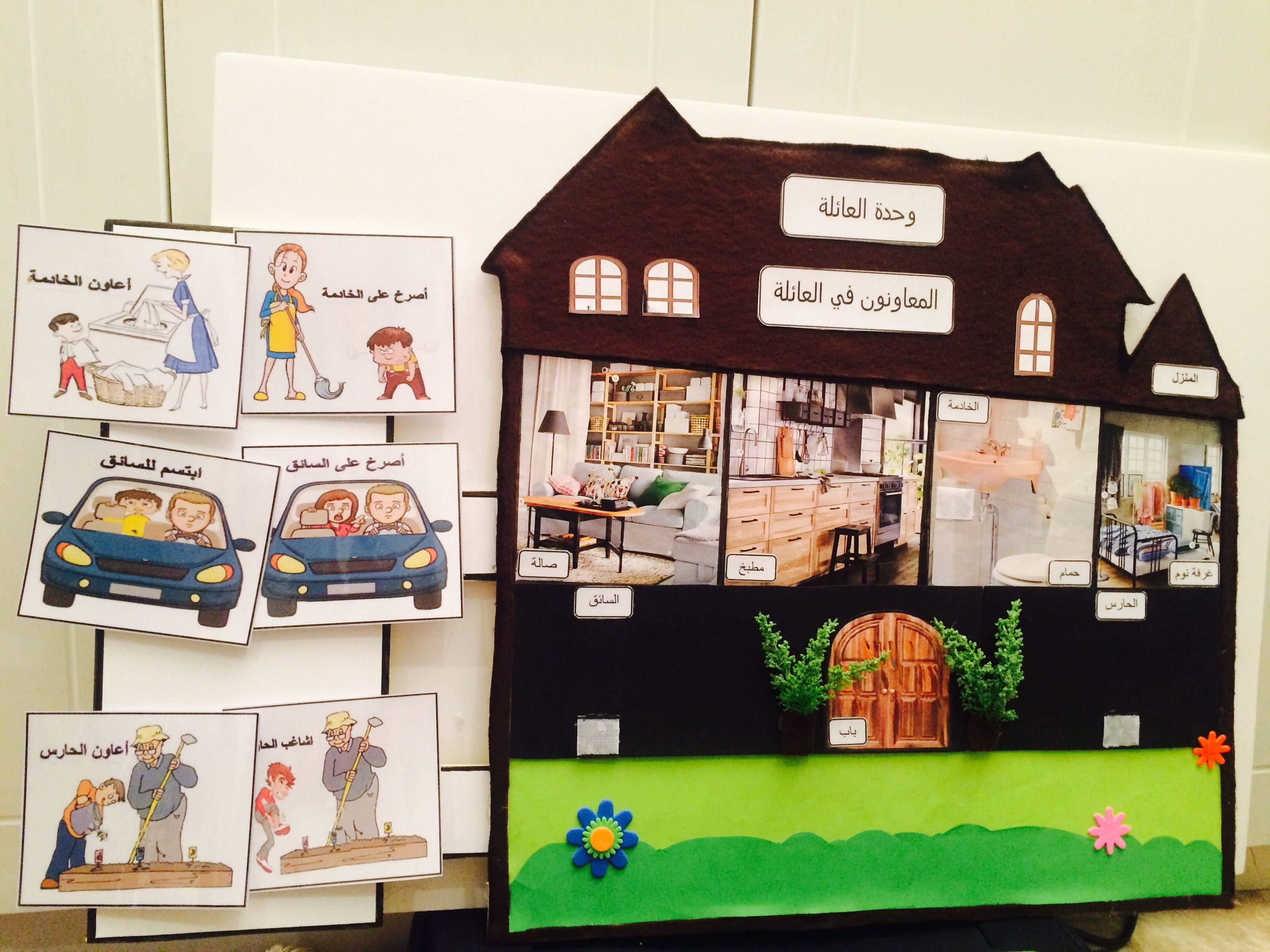 وسيلة الحلقة لوحدة العائلة المعاونون في العائلة ان يختار الطفل السلوك الصحيح و يضعه في المنزل و السلوك ا Crafts For Kids Toddler Quiet Book Kids And Parenting