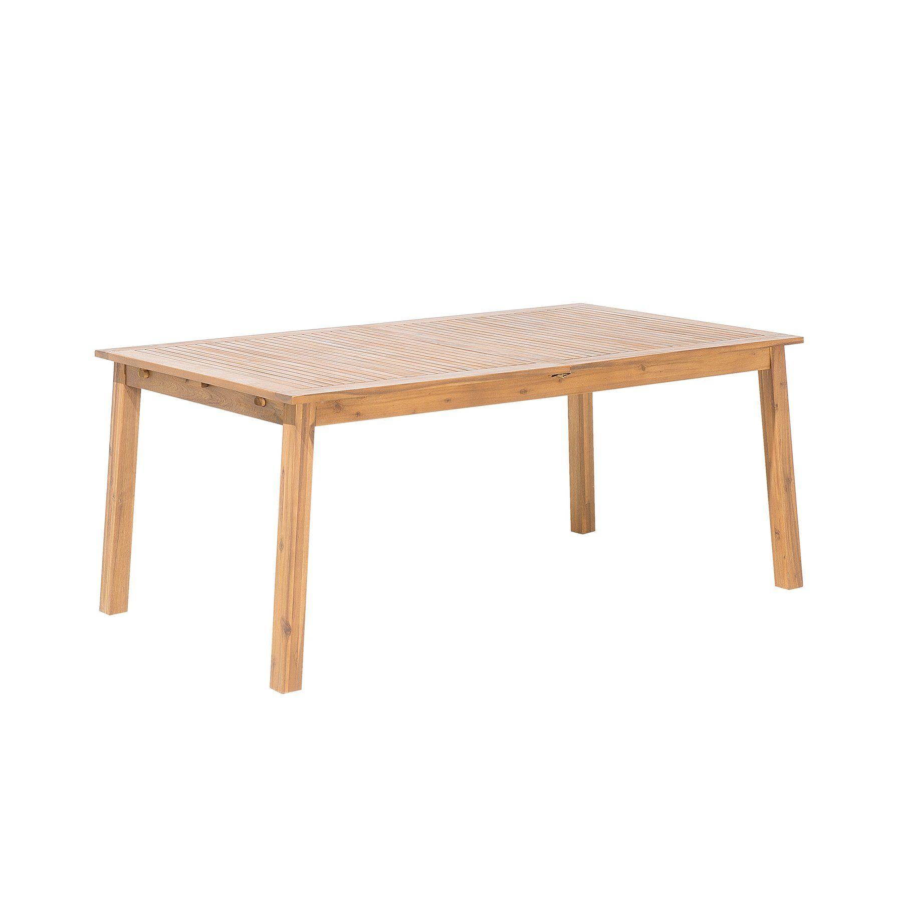 Gartentisch Holz 180 240 X 100 Cm Ausziehbar Cesana Gartentisch
