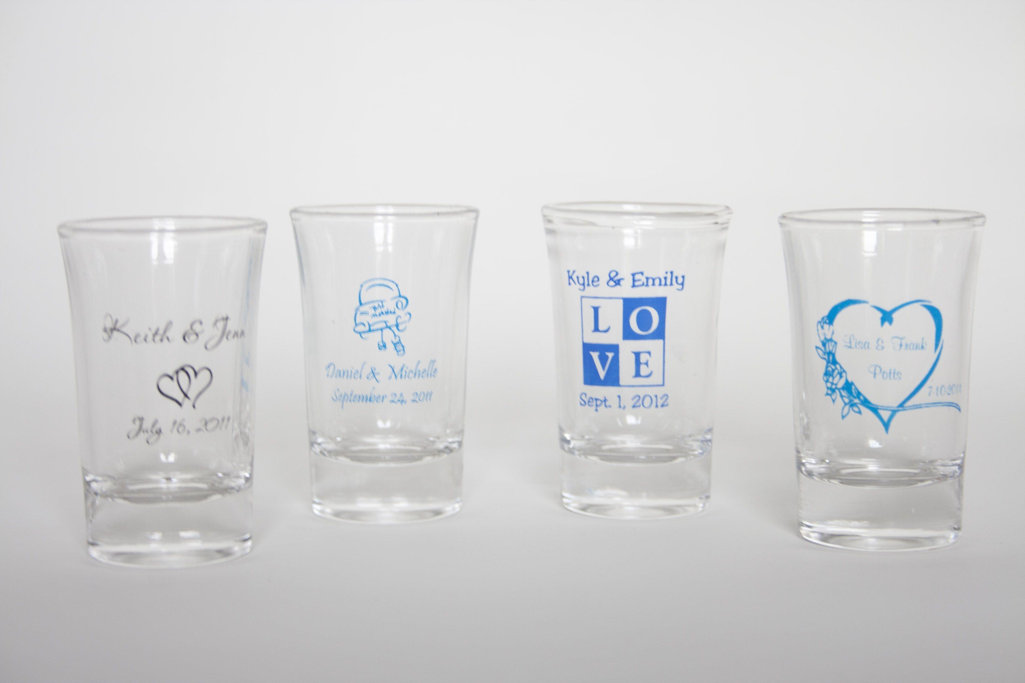 Personalized 2oz Flared Shot Glass | Personalized Shot Glasses ...
