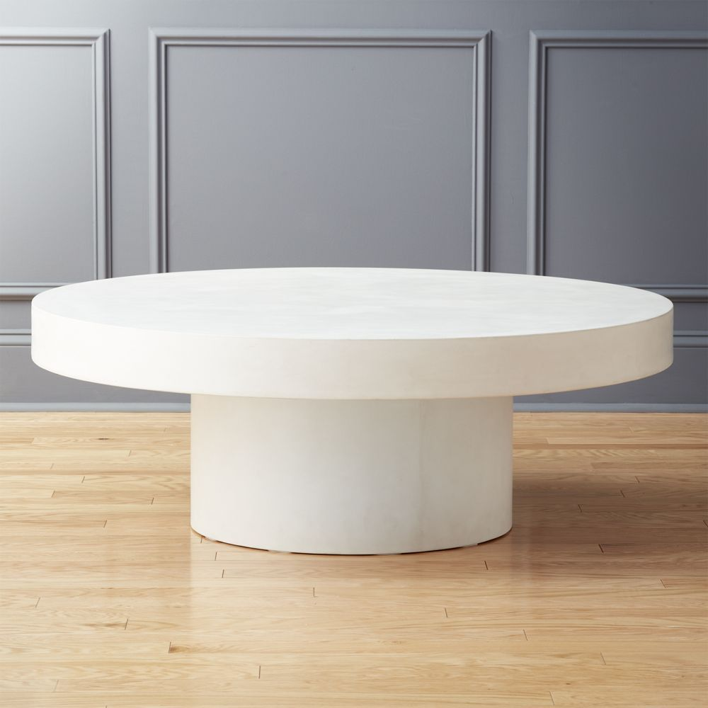 Shroom Large Coffee Table By Cb2 In 2020 Coffee Table Wood
