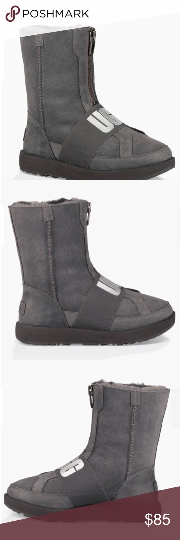"""8b441bce7e8 UGG CONNESS NWT Brand new NWT """"CONNESS """" UGG Black waterproof These ..."""