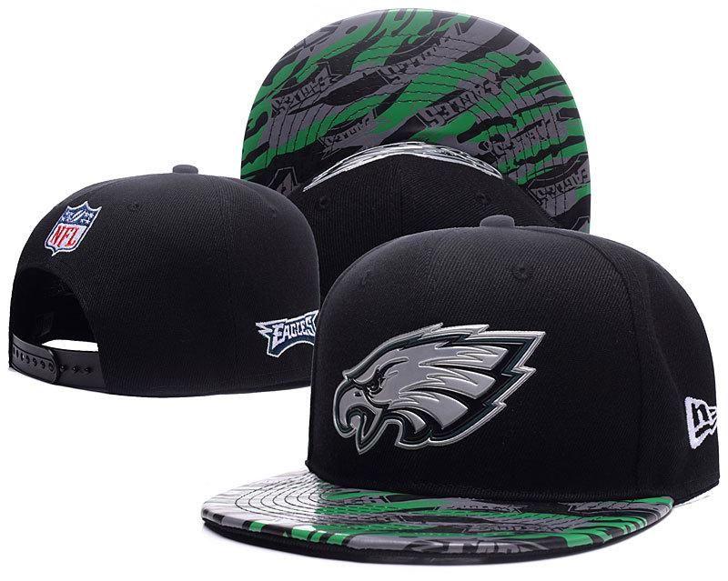 size 40 79c6a 89db1 Men s Philadelphia Eagles New Era Black Color Liquid Chrome Logo Rush On- Field Original Fit 9FIFTY Snapback Hat