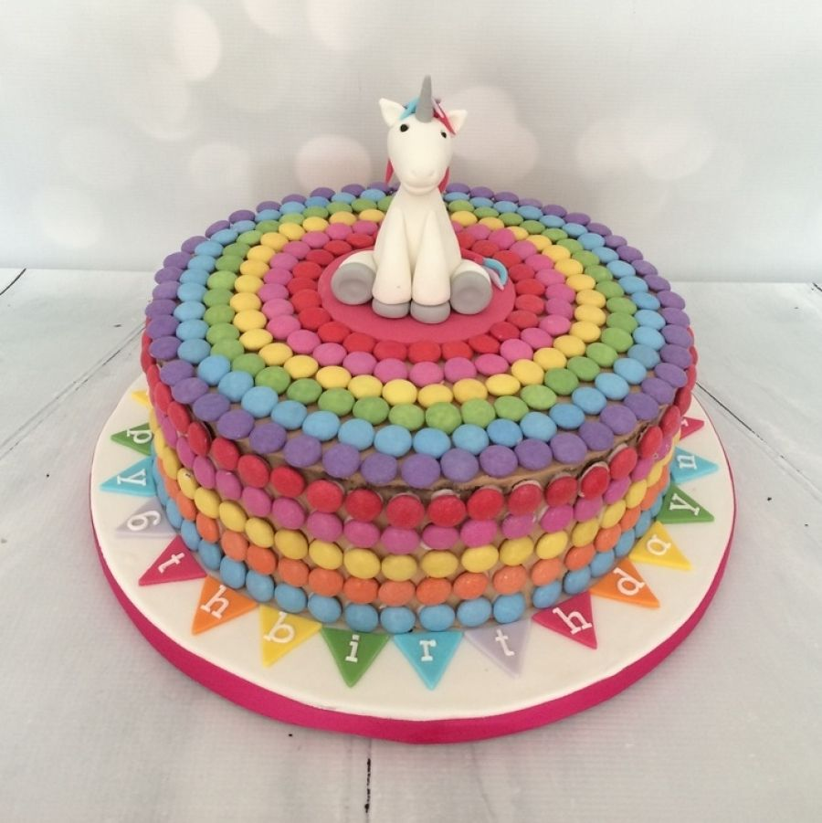 Smarties Cake Cakes And All Things Sweet And Pretty Pinterest