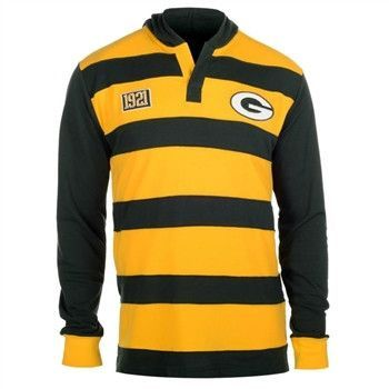 Green Bay Packers Cotton Rugby Hoody