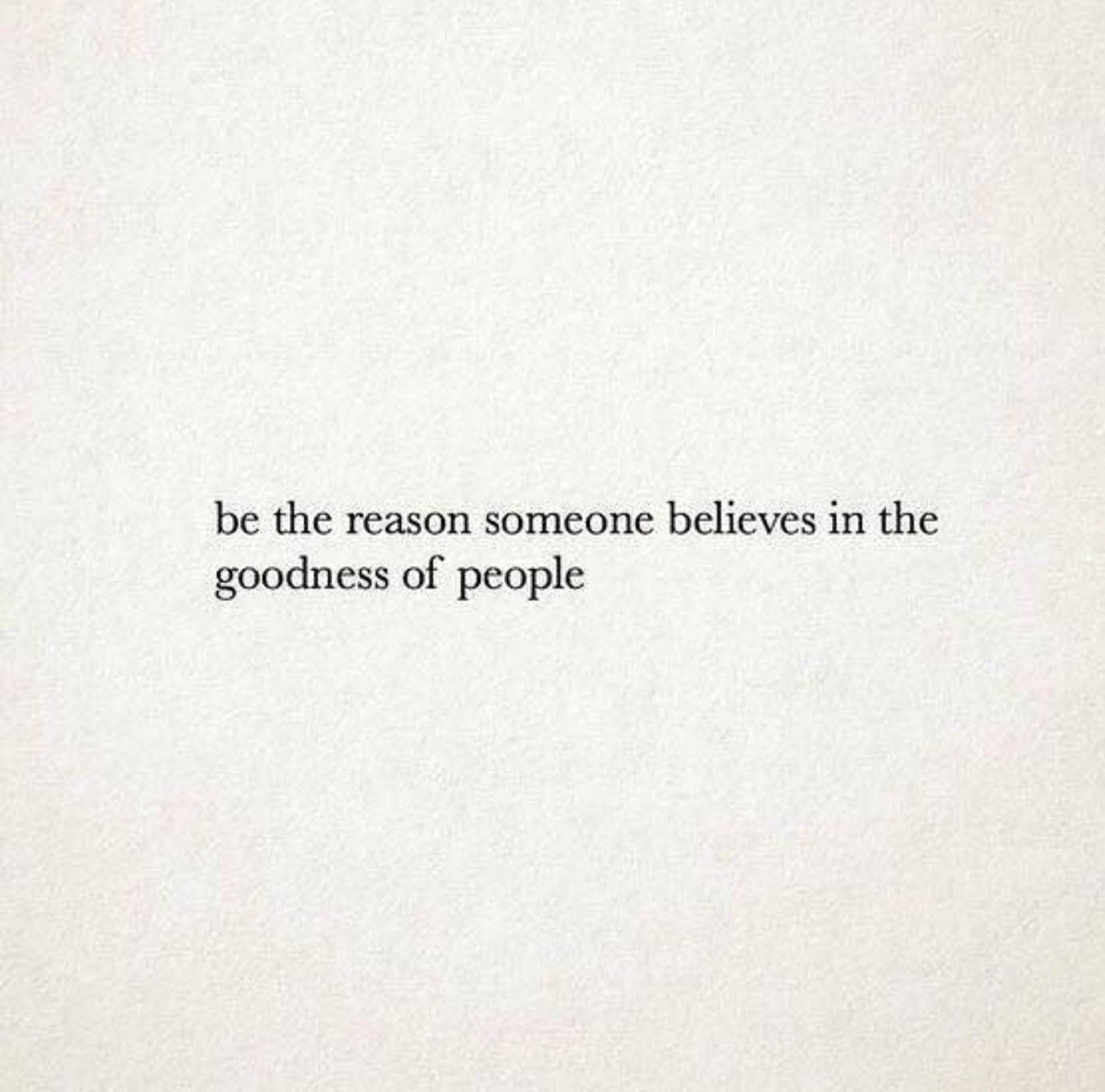 Be the Reason.