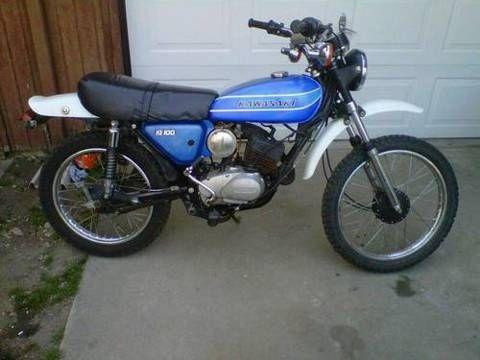 love this bike 1978 kawasaki ke100 my motor cycle my childhood fads and favs. Black Bedroom Furniture Sets. Home Design Ideas